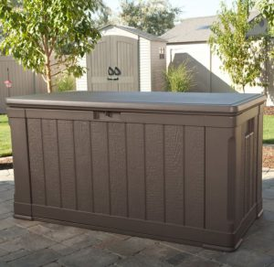 Lifetime Deck Box - Brown