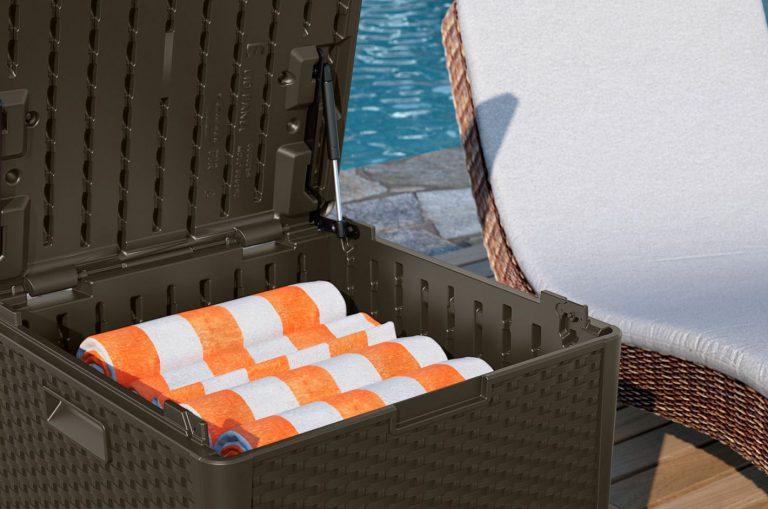 Suncast Deck Box Cube