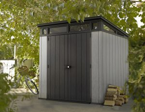 Plastic Pent Roof Sheds