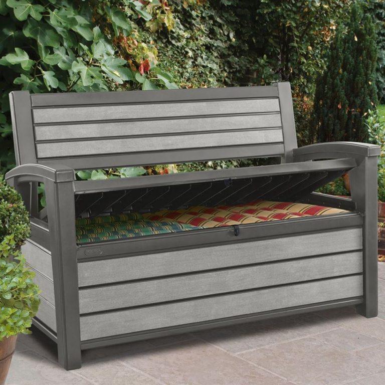 Hudson Garden Storage Bench