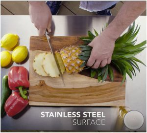 Hygienic Stainless Steel Surface
