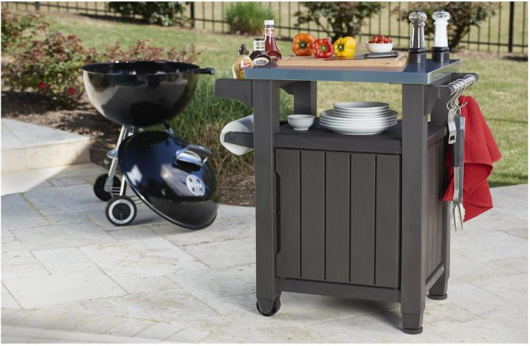 Outdoor BBQ Storage Table - Keter Unity