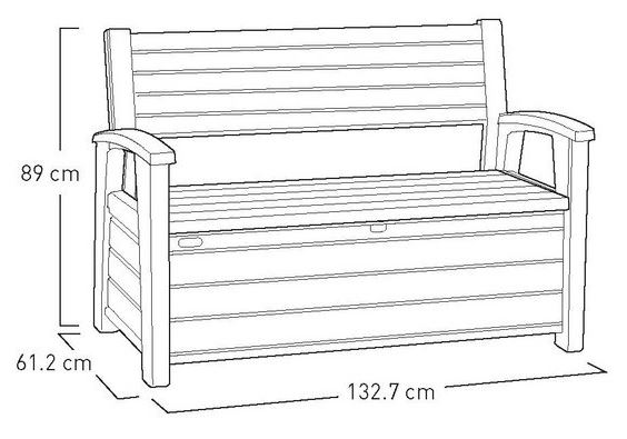 Hudson Storage Bench Measurements