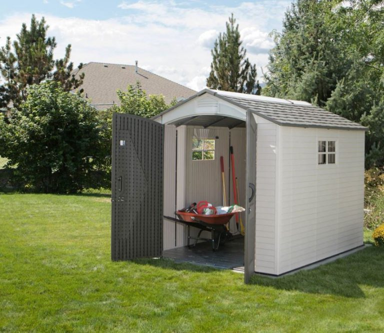 Lifetime 7 x 9.5 ft Shed