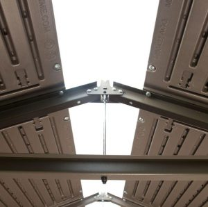 Steel Reinforced Roof Structure