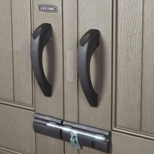 Padlockable Doors