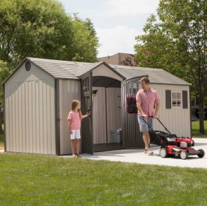 Lifetime 17.5 x 8 ft Shed