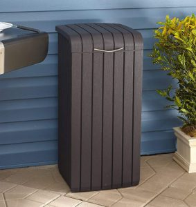 Outdoor Patio Trash Bin