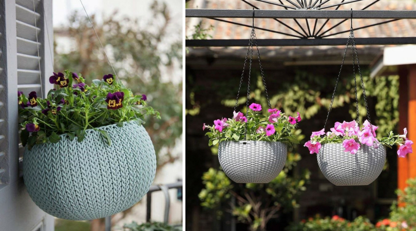 Cozy Hanging Baskets