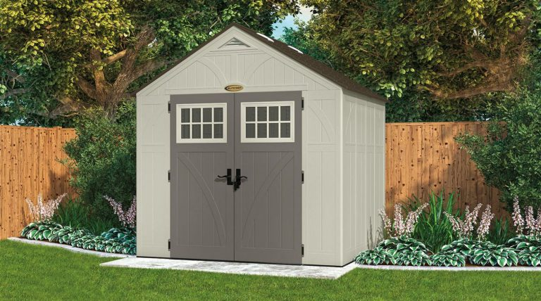 Suncast Tremont 8 x 7 ft Shed