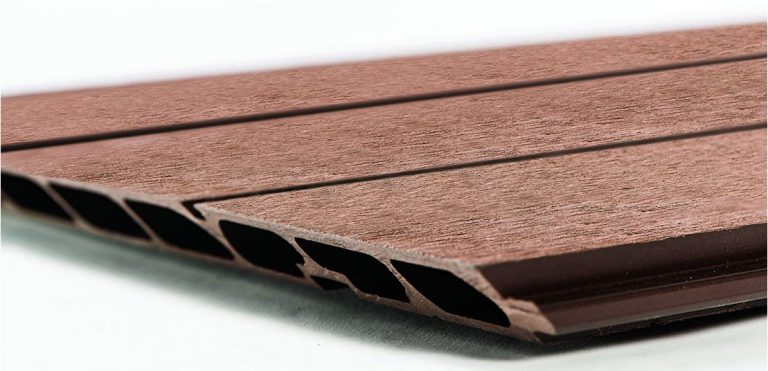 Fusion's wood/plastic composite fascia boards