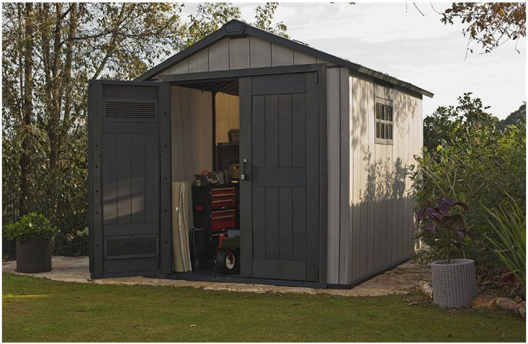 Oakland 759 Resin Outdoor Storage Shed