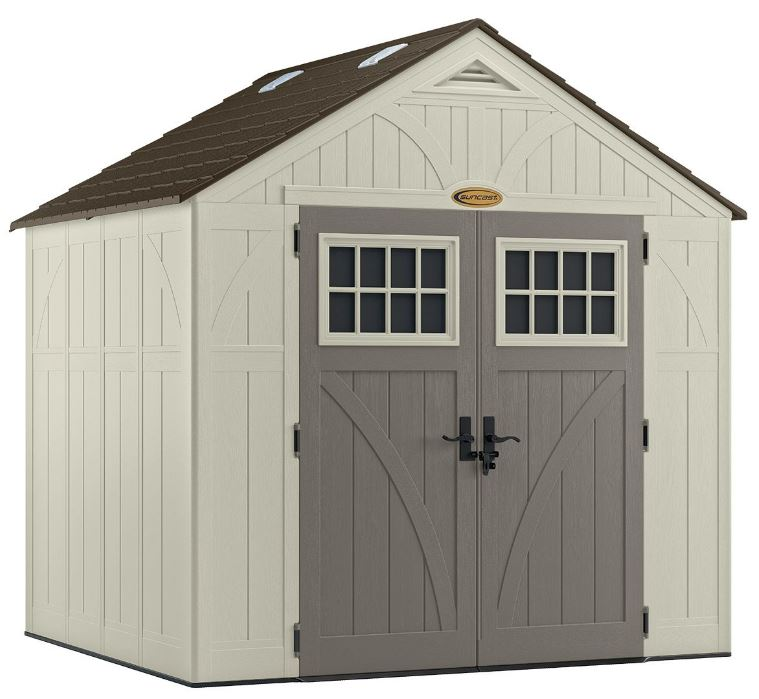 Tremont 8 x 7 ft Self-Assembly Shed