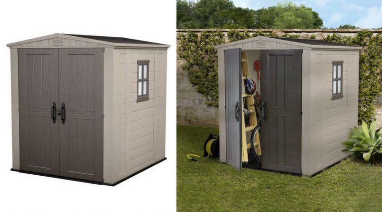 Budget-Friendly Plastic Sheds 6x6
