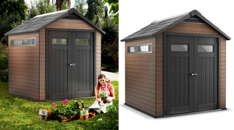 Composite Outdoor Storage Sheds