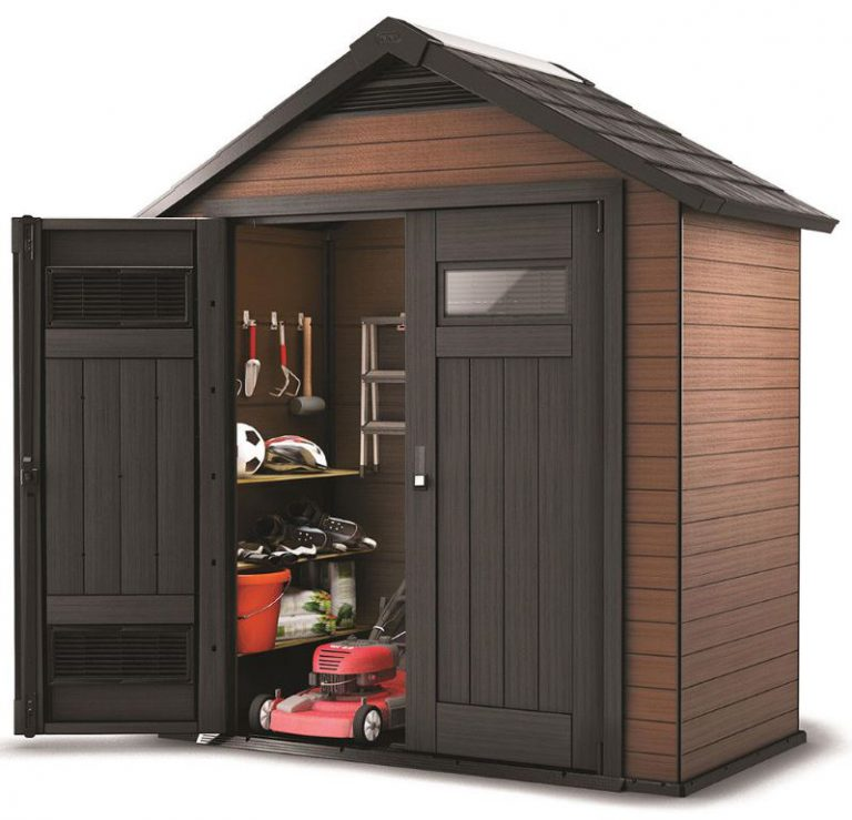 Fusion 7.5 x 4 ft Garden Shed