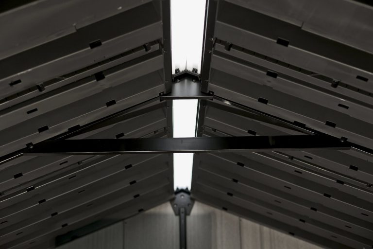 Steel Reinforced Roof