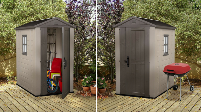 Keter Factor 4 x 6 ft Shed